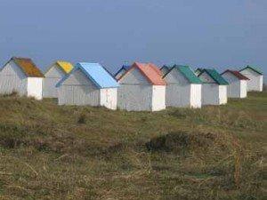 FRANCE, Gouville sur mer, Normandie cottage dans chambre d'hôte cabines-300x225
